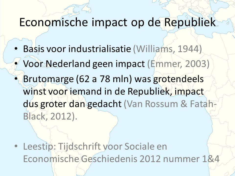 Economische impact op de Republiek