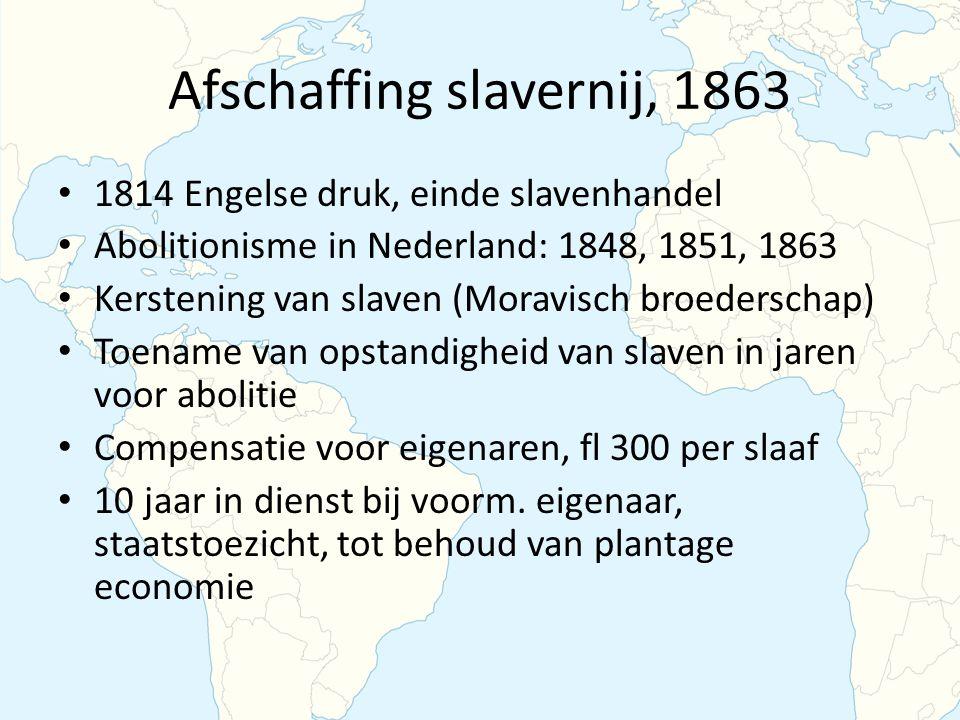 Afschaffing slavernij, 1863