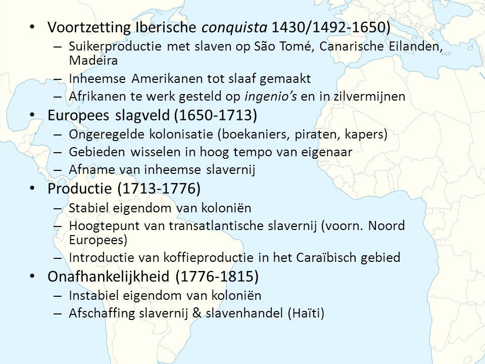 Voortzetting Iberische conquista 1430/1492-1650)