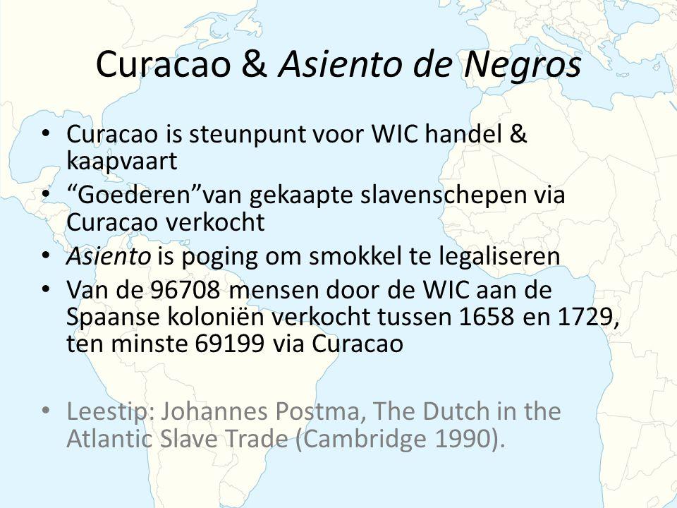 Curacao & Asiento de Negros