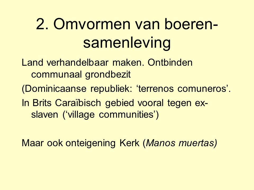 2. Omvormen van boeren-samenleving