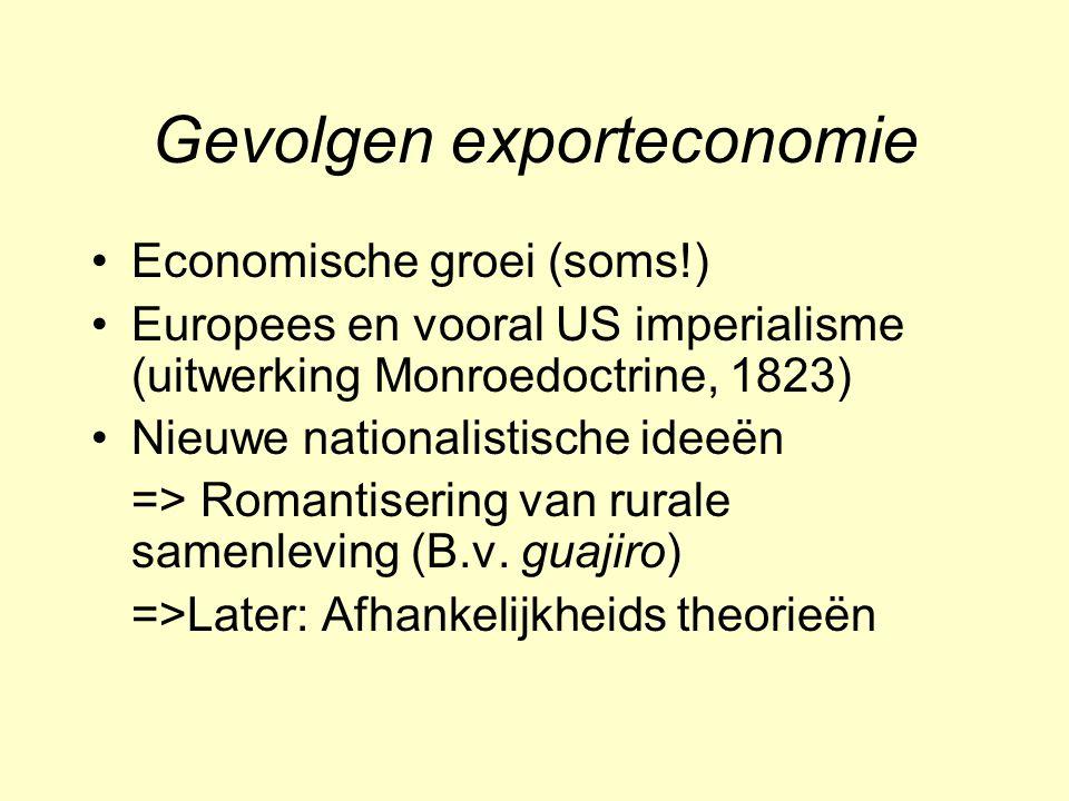 Gevolgen exporteconomie