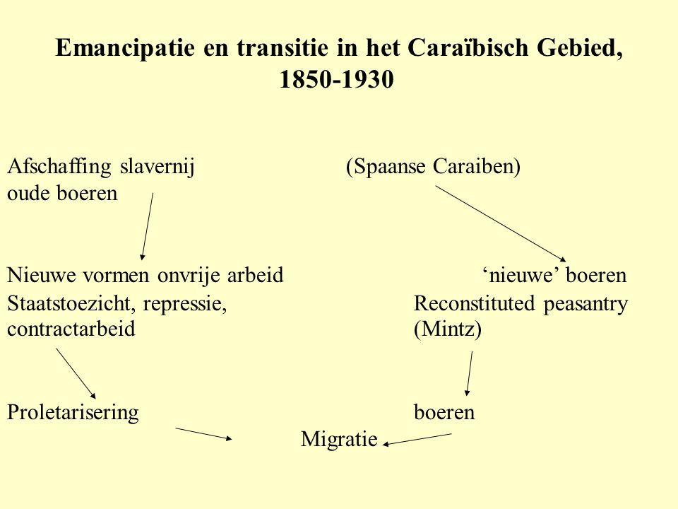 Emancipatie en transitie in het Caraïbisch Gebied,