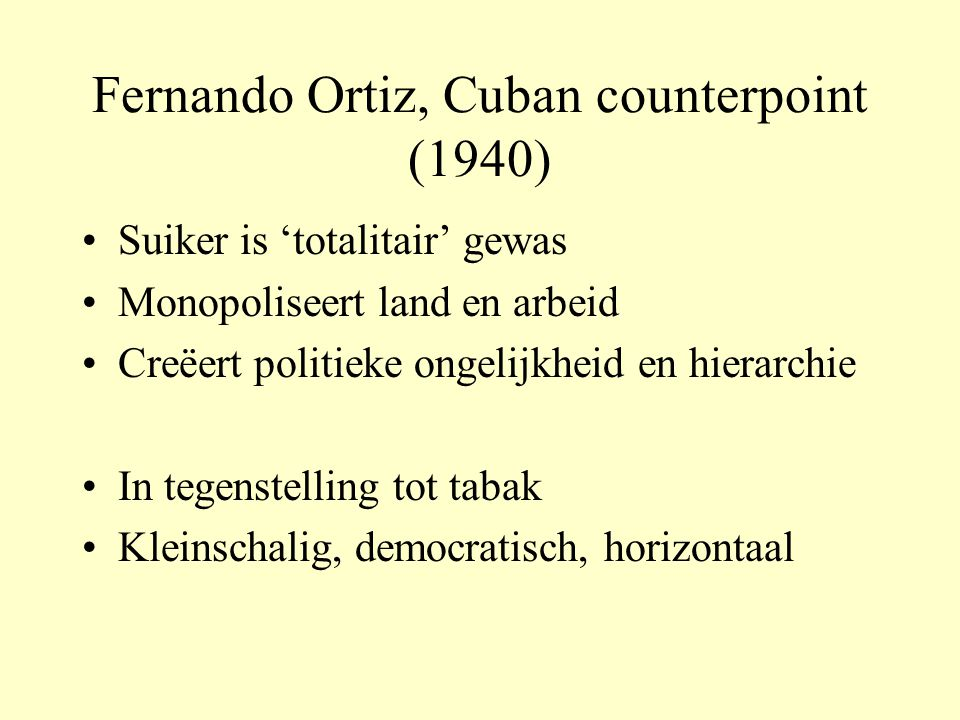 Fernando Ortiz, Cuban counterpoint (1940)
