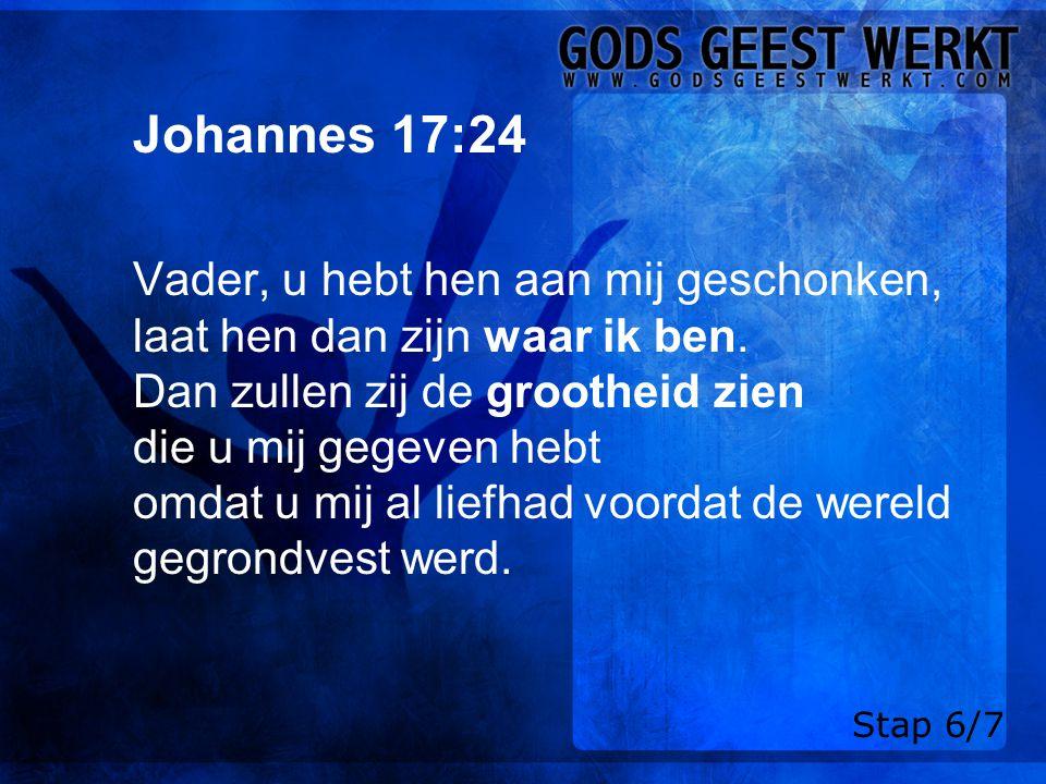 Johannes 17:24
