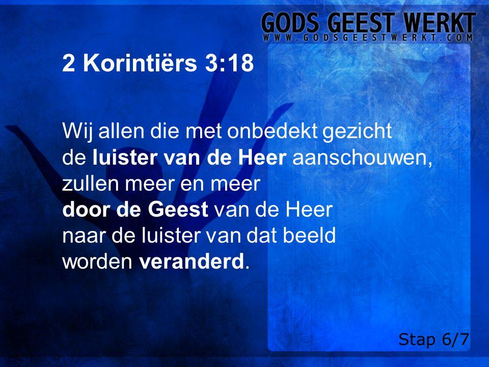 2 Korintiërs 3:18