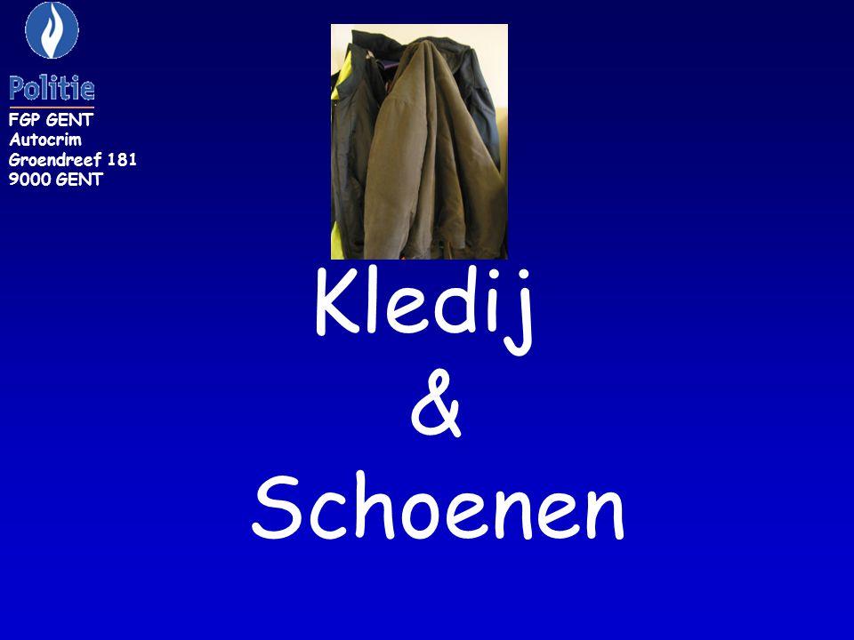 FGP GENT Autocrim Groendreef 181 9000 GENT Kledij & Schoenen