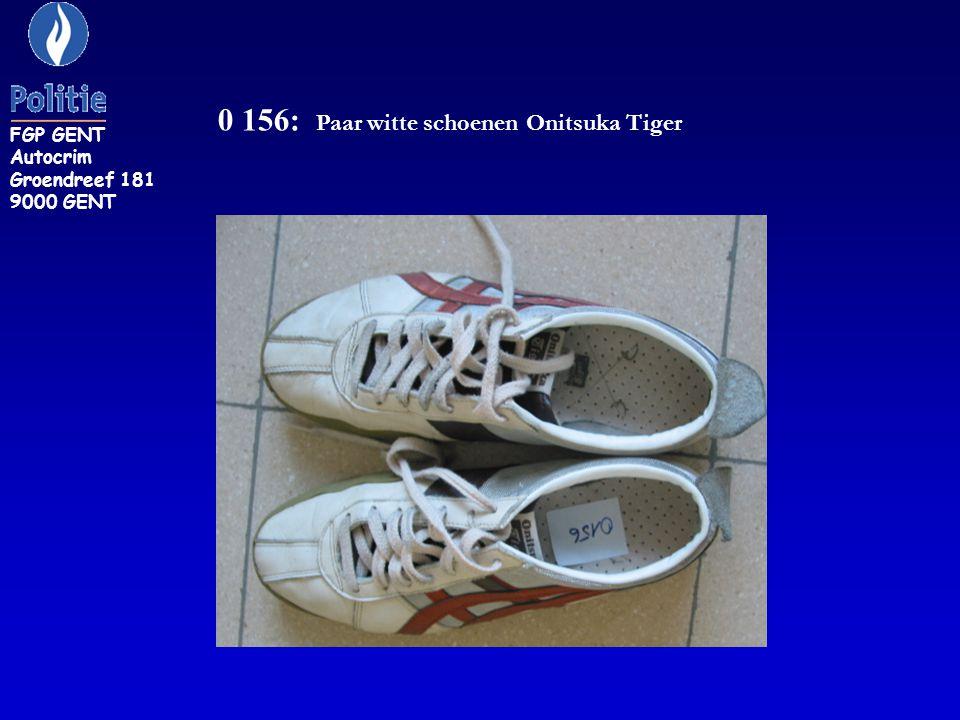0 156: Paar witte schoenen Onitsuka Tiger