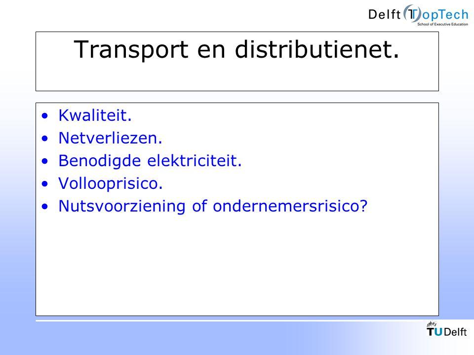 Transport en distributienet.