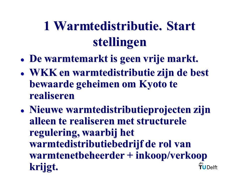 1 Warmtedistributie. Start stellingen