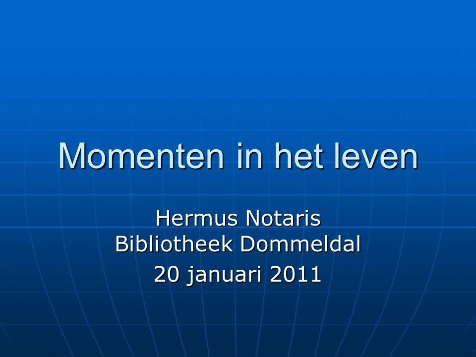 Hermus Notaris Bibliotheek Dommeldal 20 januari 2011