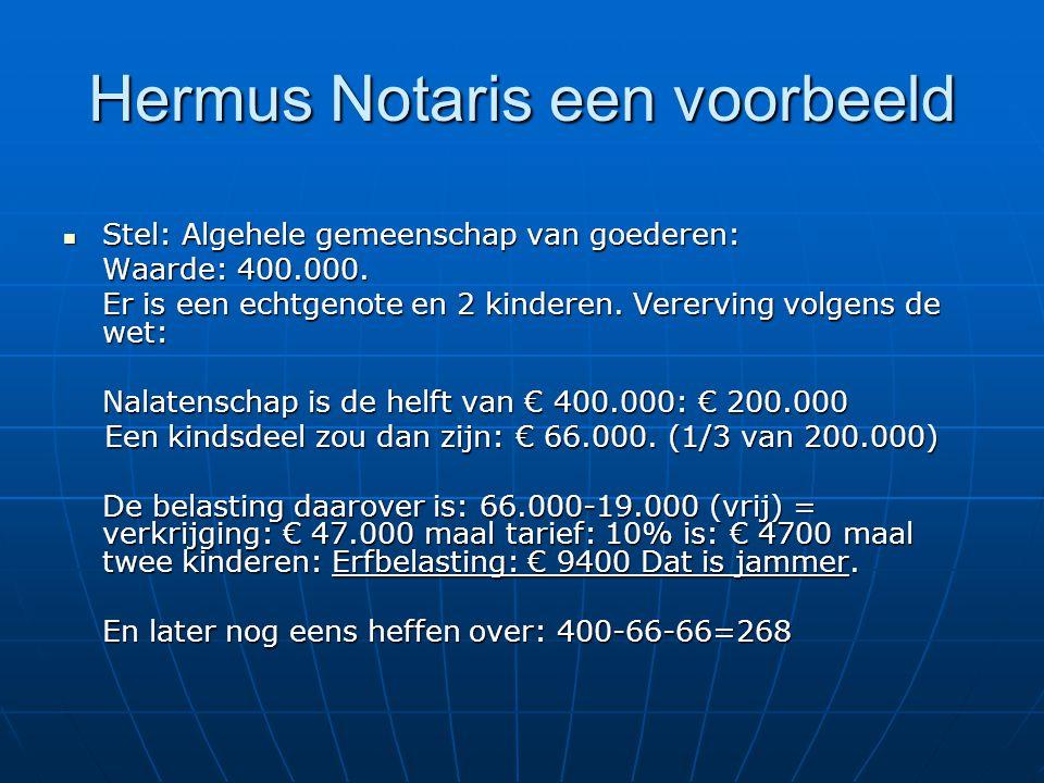 Hermus Notaris een voorbeeld