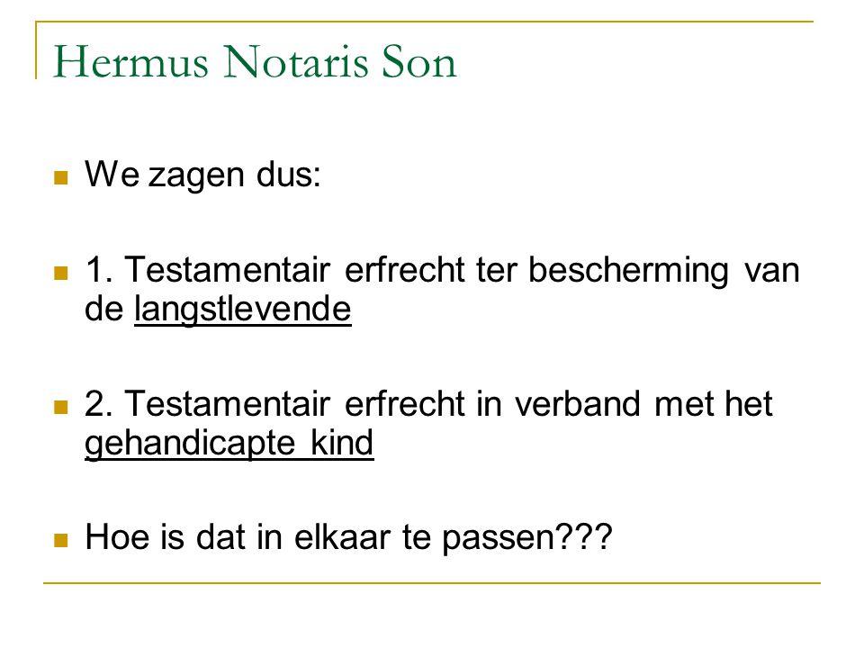 Hermus Notaris Son We zagen dus: