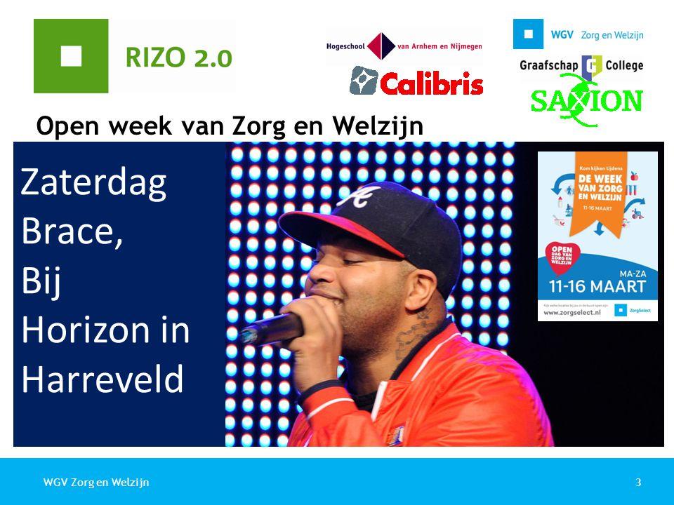 Open week van Zorg en Welzijn