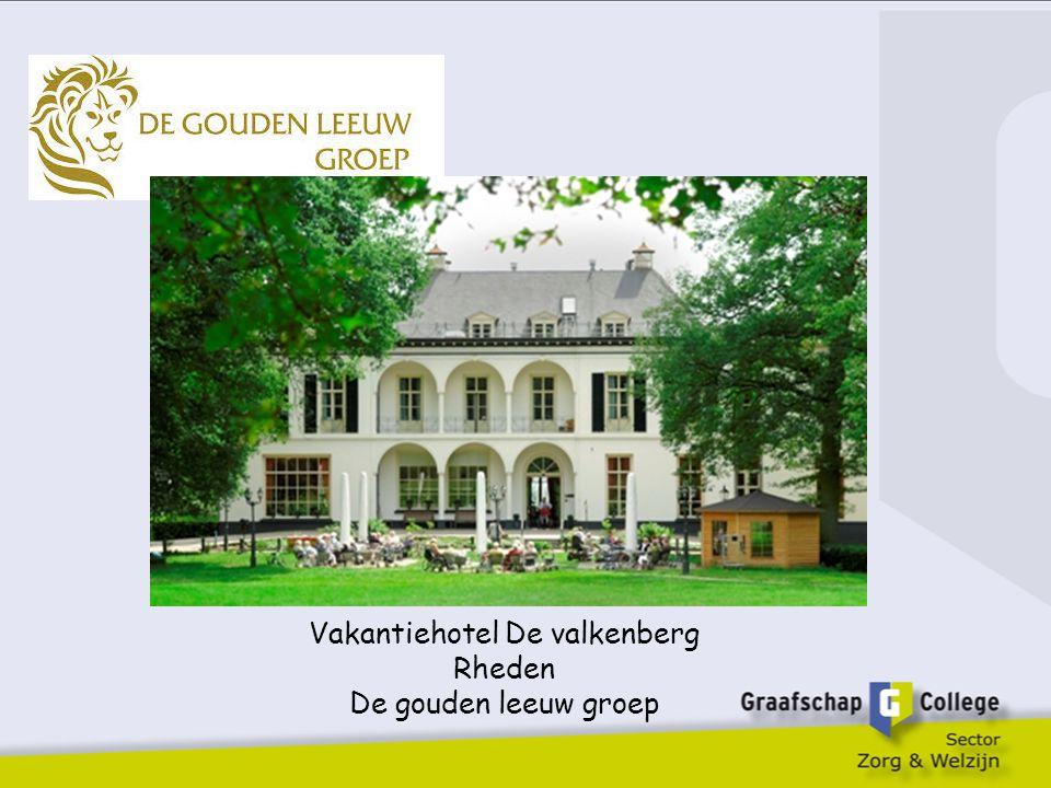 Vakantiehotel De valkenberg Rheden De gouden leeuw groep