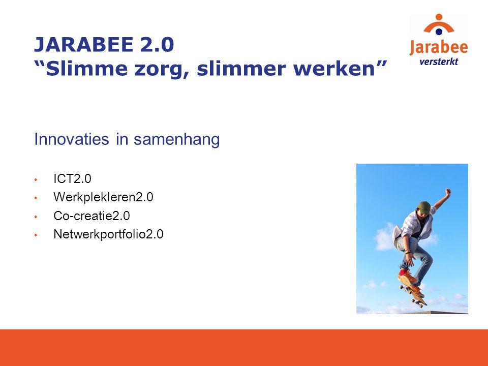 JARABEE 2.0 Slimme zorg, slimmer werken