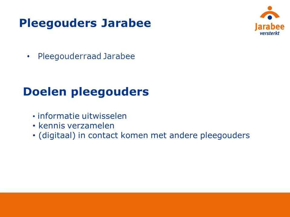 Pleegouders Jarabee Pleegouderraad Jarabee