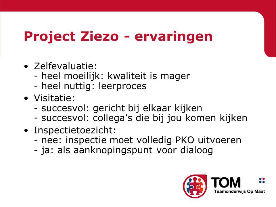 Project Ziezo - ervaringen