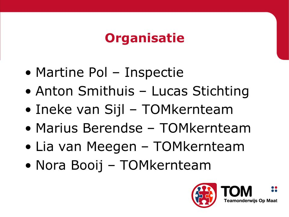 Martine Pol – Inspectie Anton Smithuis – Lucas Stichting