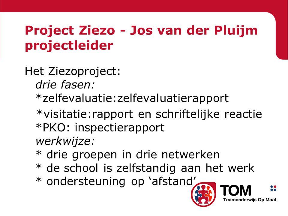 Project Ziezo - Jos van der Pluijm projectleider