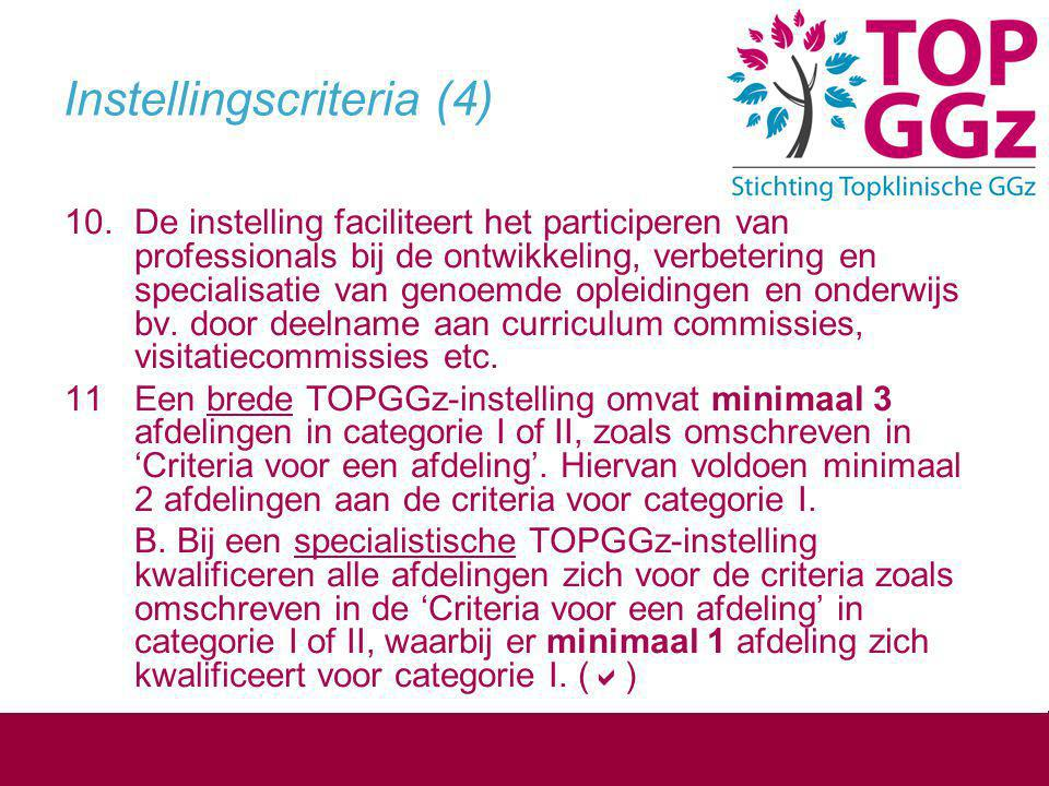Instellingscriteria (4)