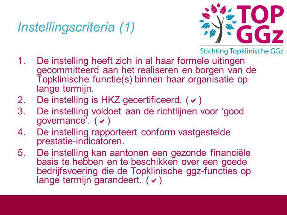 Instellingscriteria (1)
