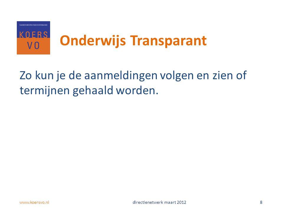 Onderwijs Transparant