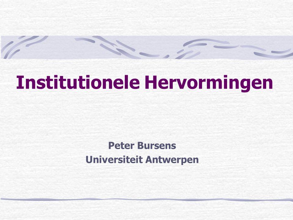 Institutionele Hervormingen