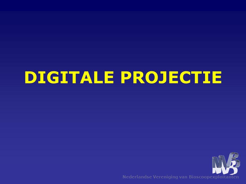 DIGITALE PROJECTIE Nederlandse Vereniging van Bioscoopexploitanten
