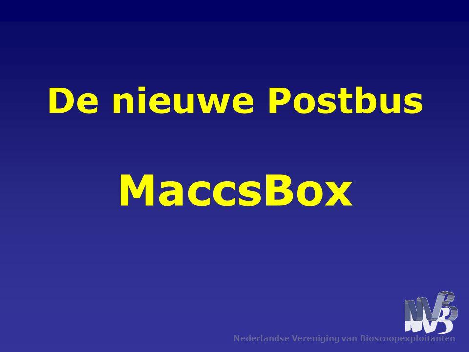 De nieuwe Postbus MaccsBox