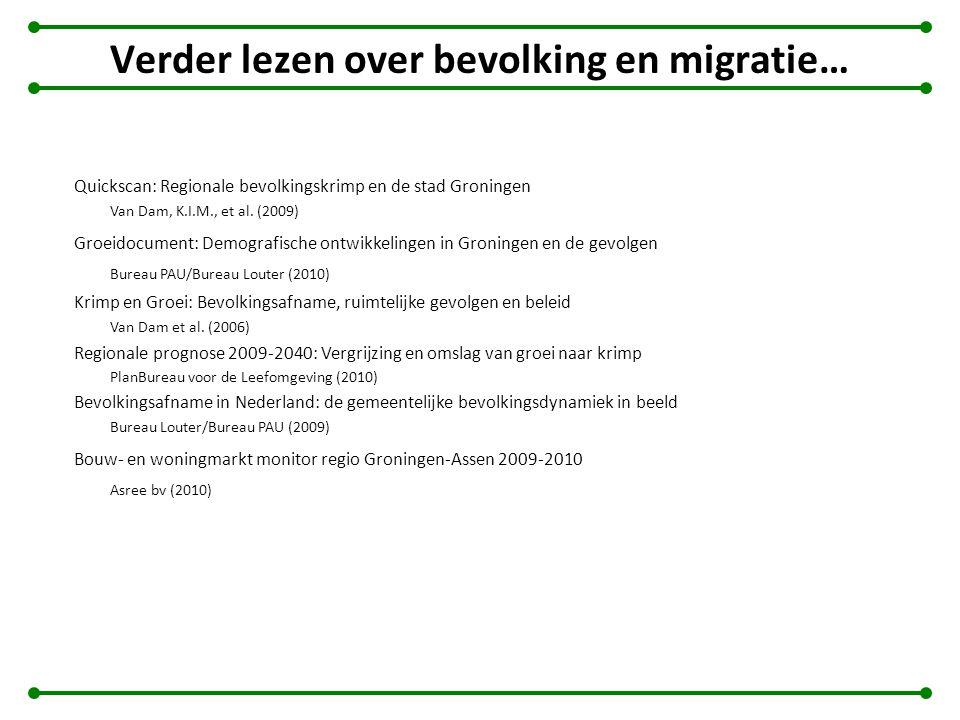 Verder lezen over bevolking en migratie…