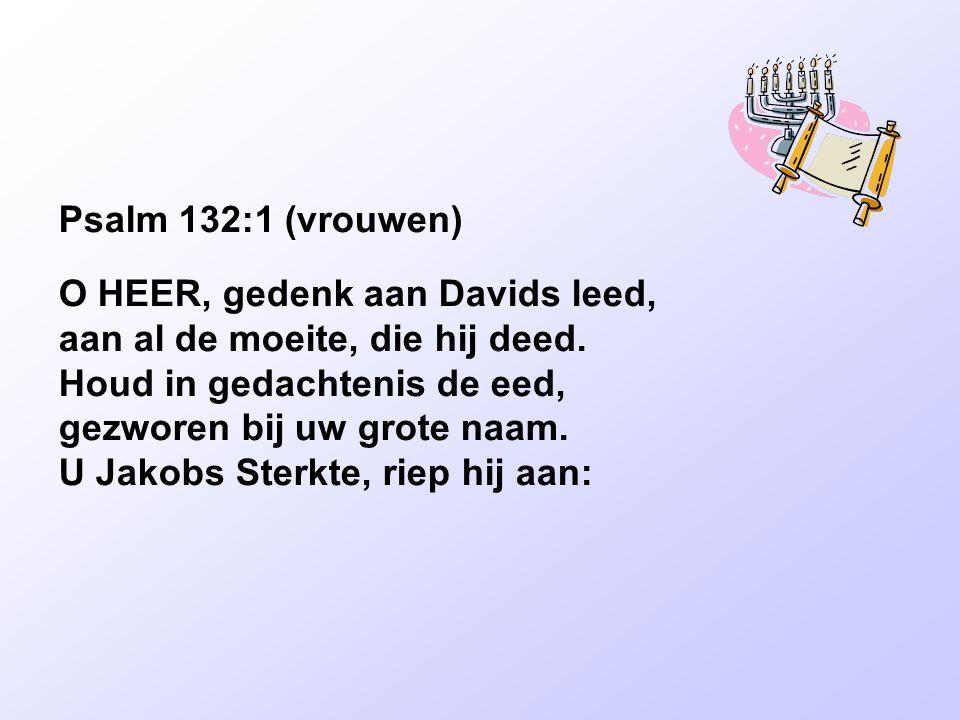 Psalm 132:1 (vrouwen)