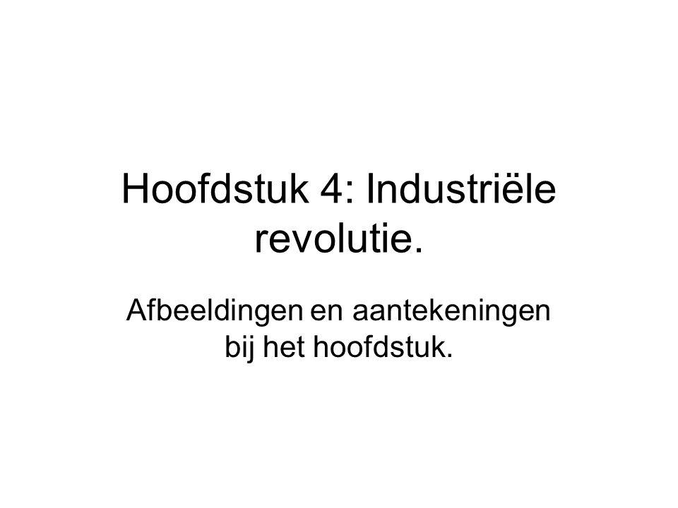 Hoofdstuk 4: Industriële revolutie.