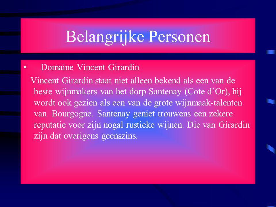 Belangrijke Personen Domaine Vincent Girardin