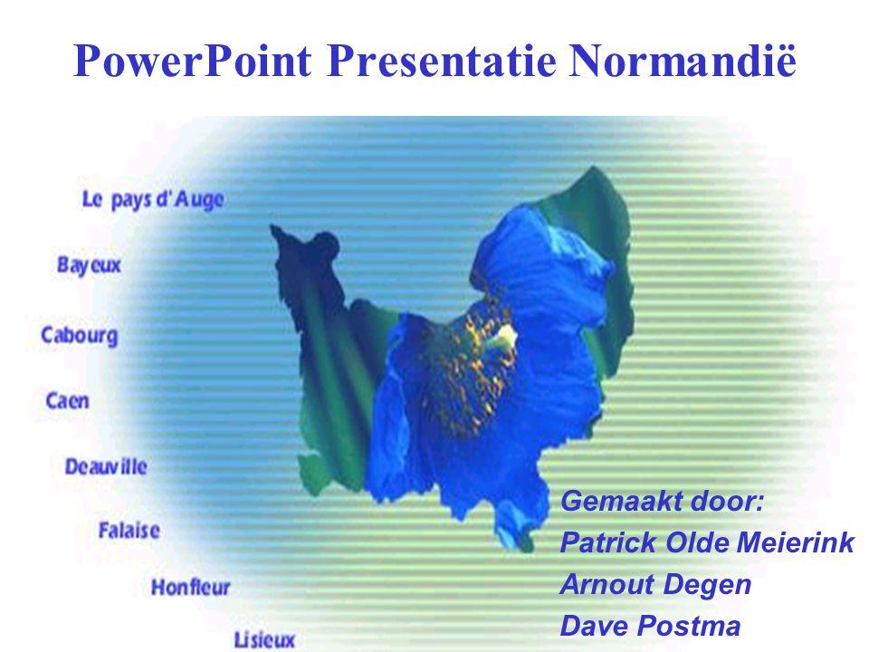 PowerPoint Presentatie Normandië