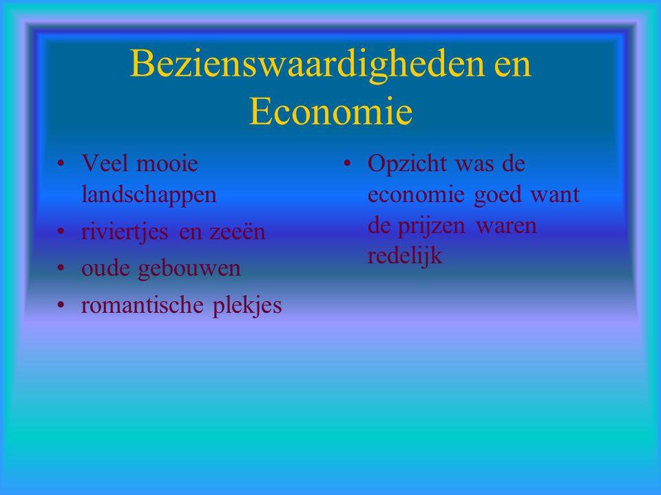 Bezienswaardigheden en Economie