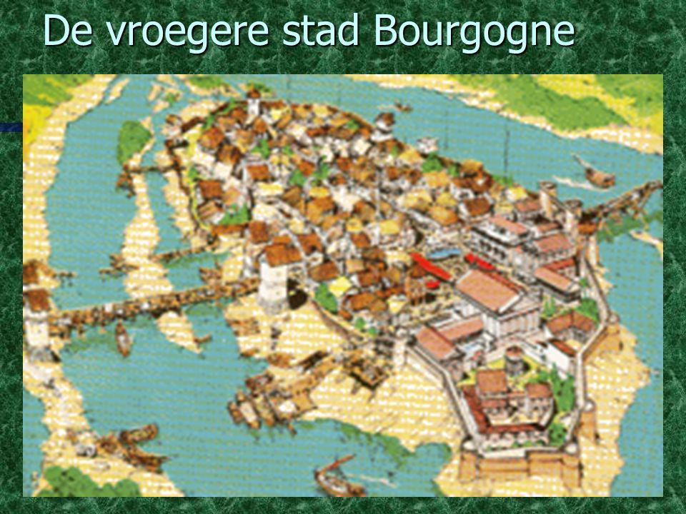De vroegere stad Bourgogne