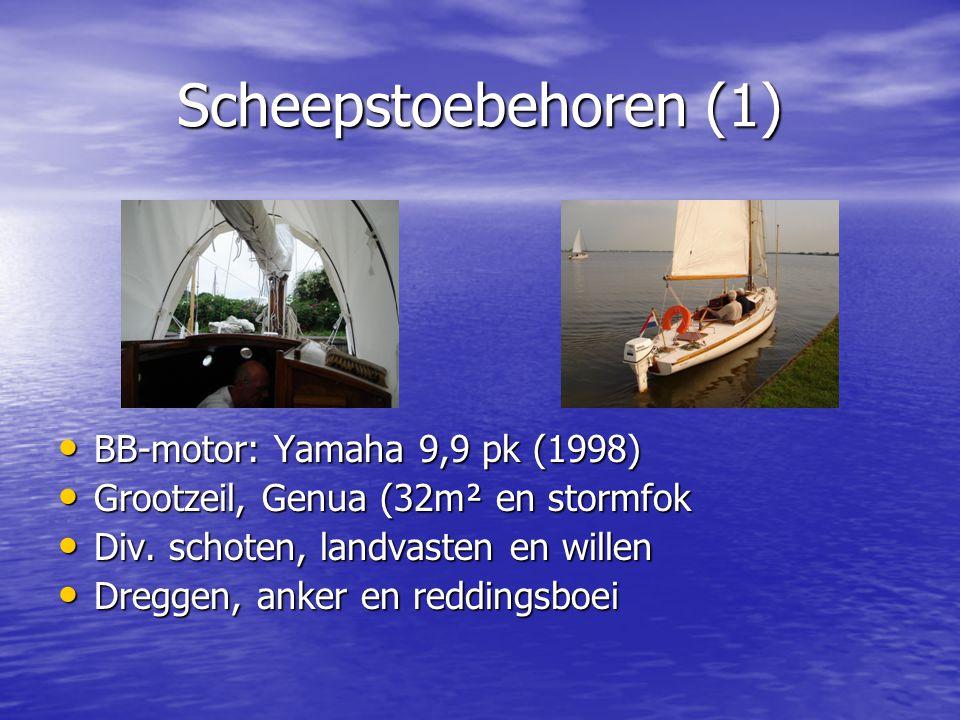 Scheepstoebehoren (1) BB-motor: Yamaha 9,9 pk (1998)