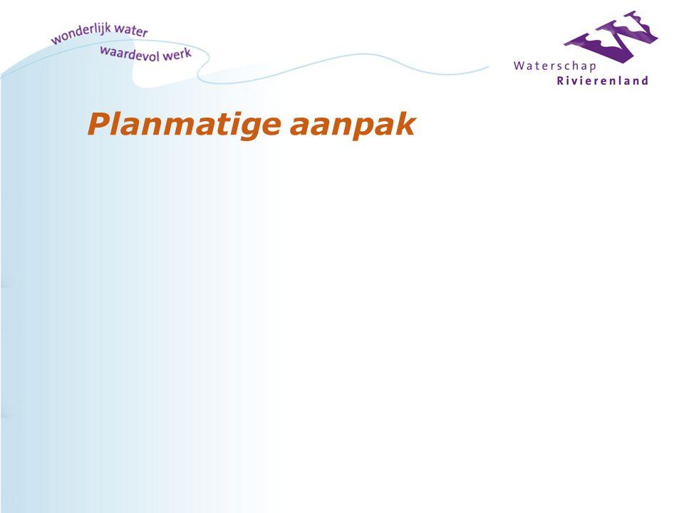 Planmatige aanpak