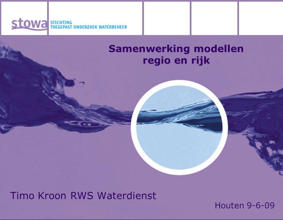 Timo Kroon RWS Waterdienst