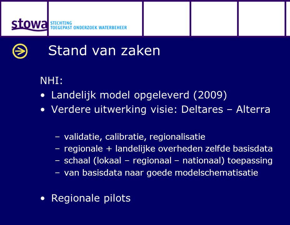 Stand van zaken NHI: Landelijk model opgeleverd (2009)