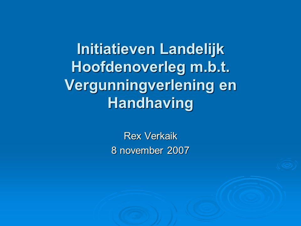 Initiatieven Landelijk Hoofdenoverleg m. b. t