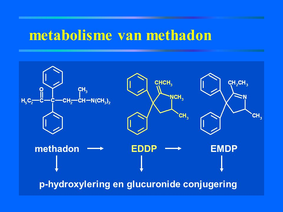 metabolisme van methadon
