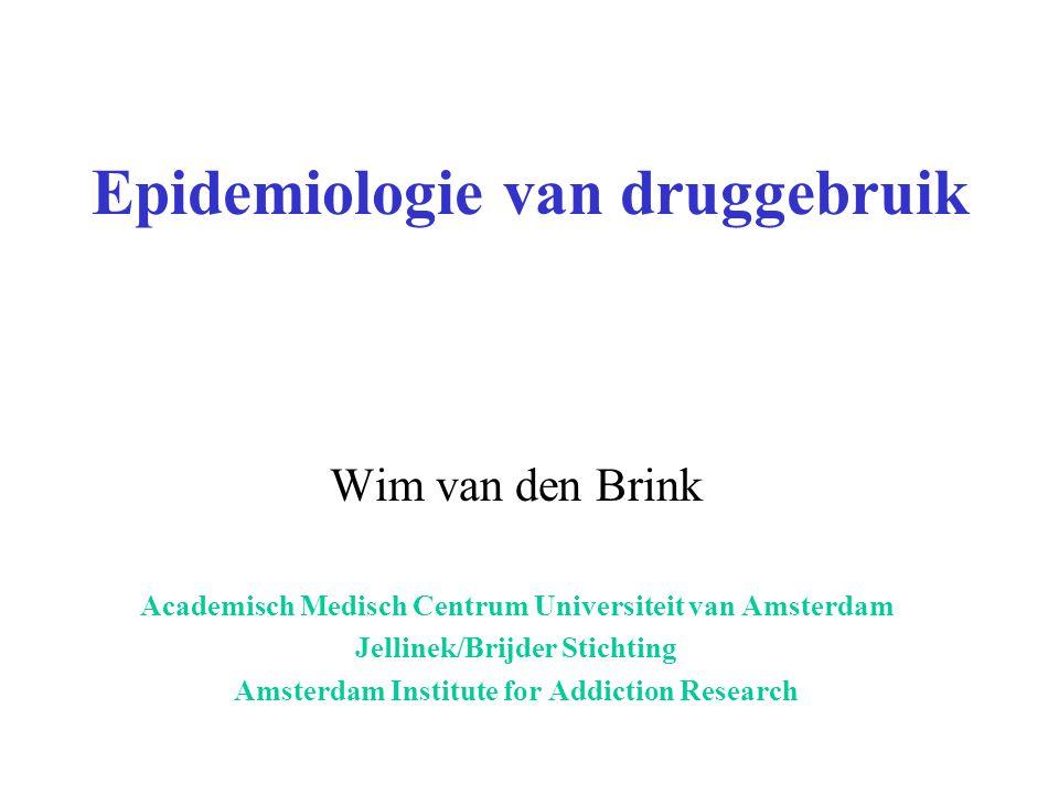 Epidemiologie van druggebruik