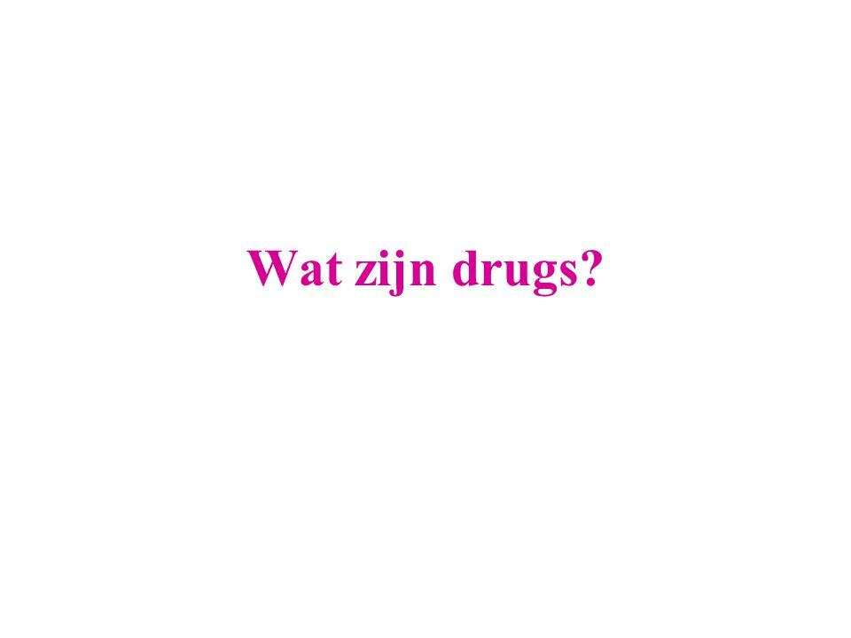 Wat zijn drugs