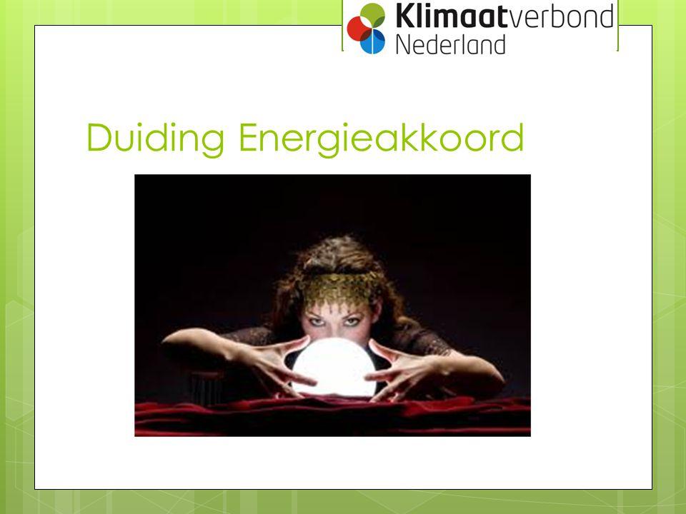 Duiding Energieakkoord