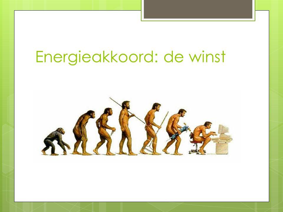 Energieakkoord: de winst