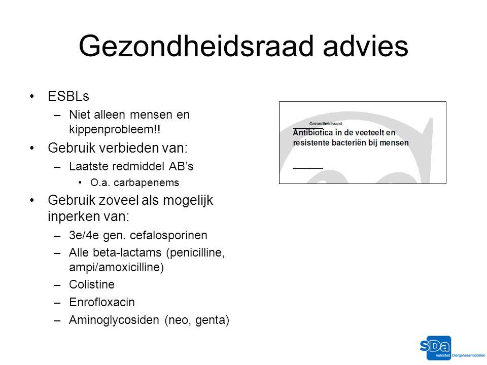 Gezondheidsraad advies