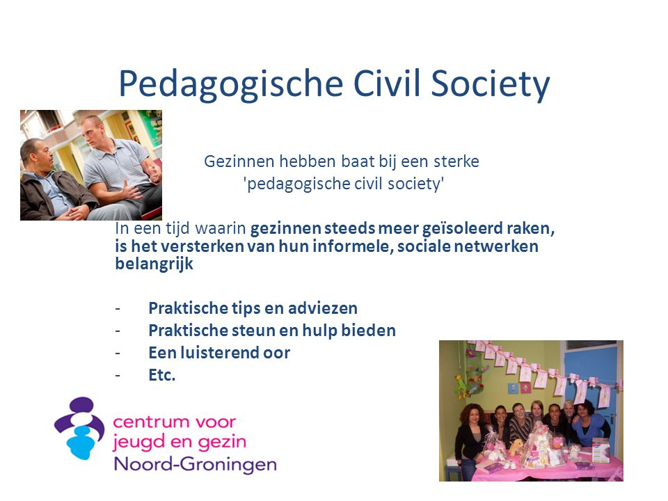 Pedagogische Civil Society