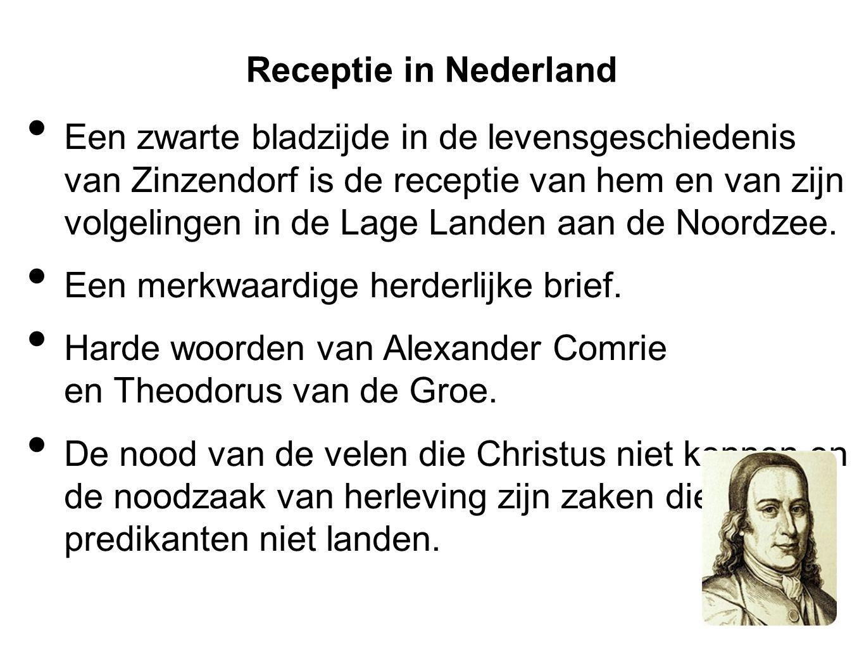 Receptie in Nederland